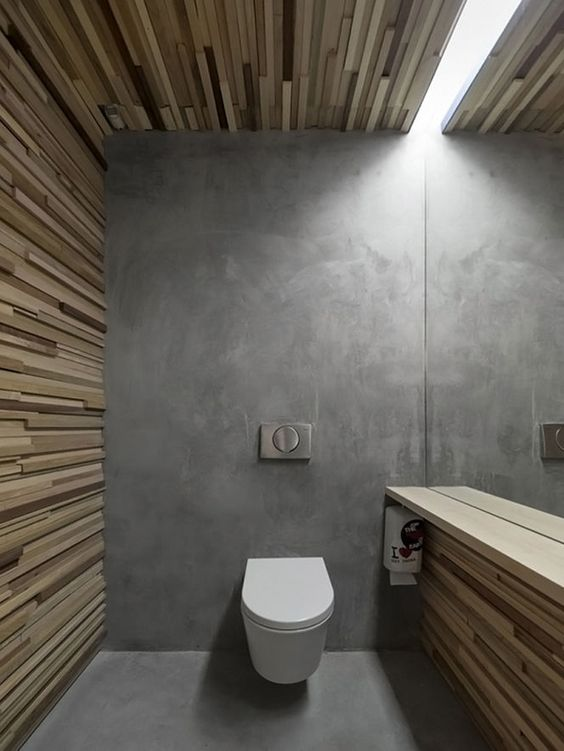 Toilet Floor Screed Mix, Concrete Toilet Interior