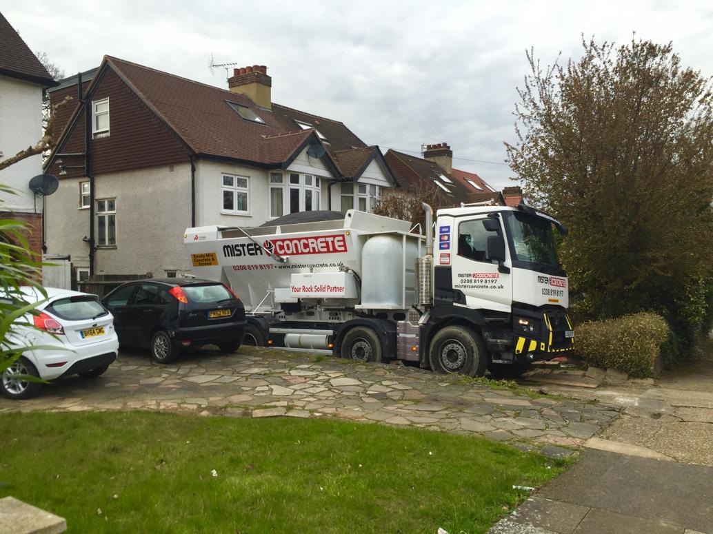 Friday concrete delivery in Richmond