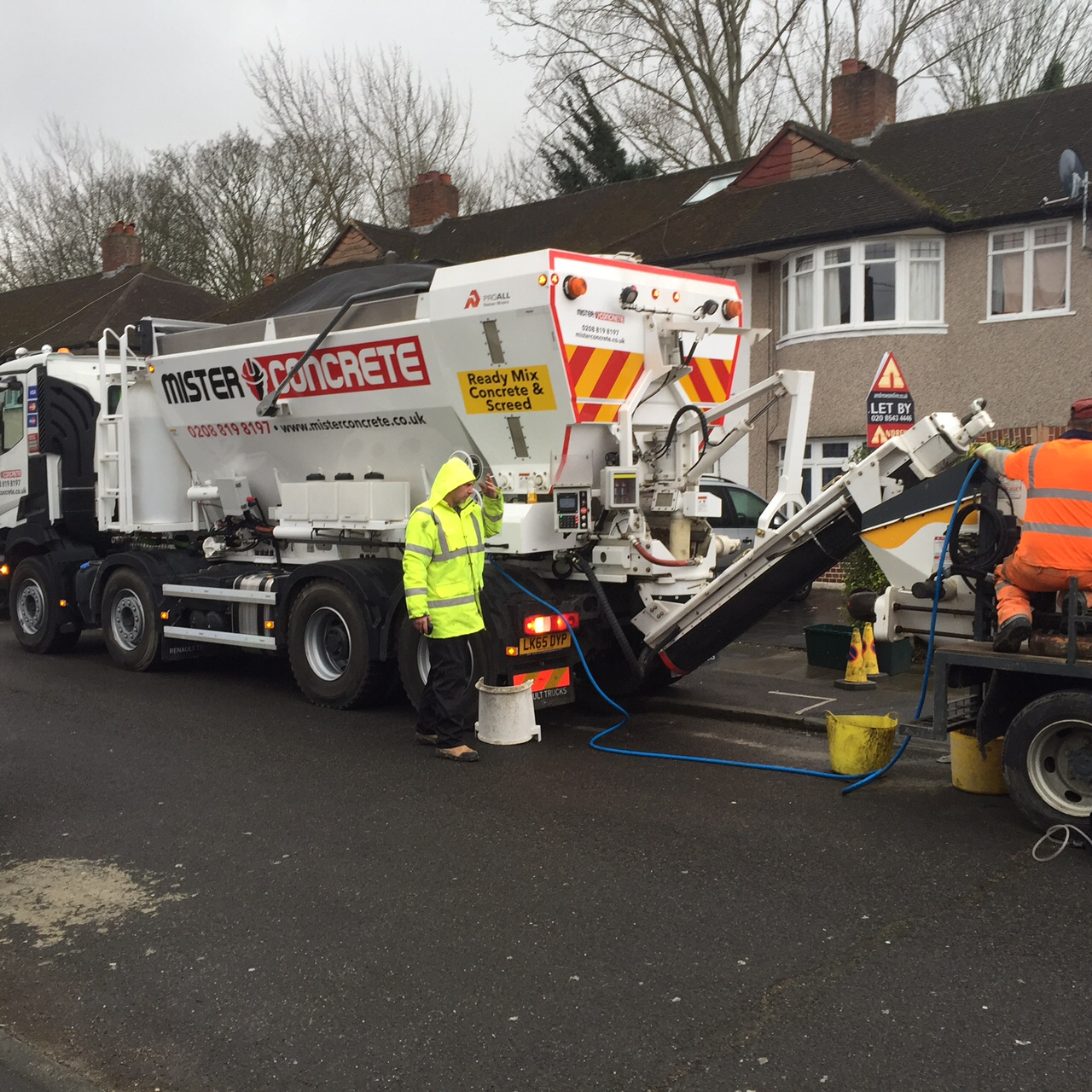 Ready mix concrete in South London