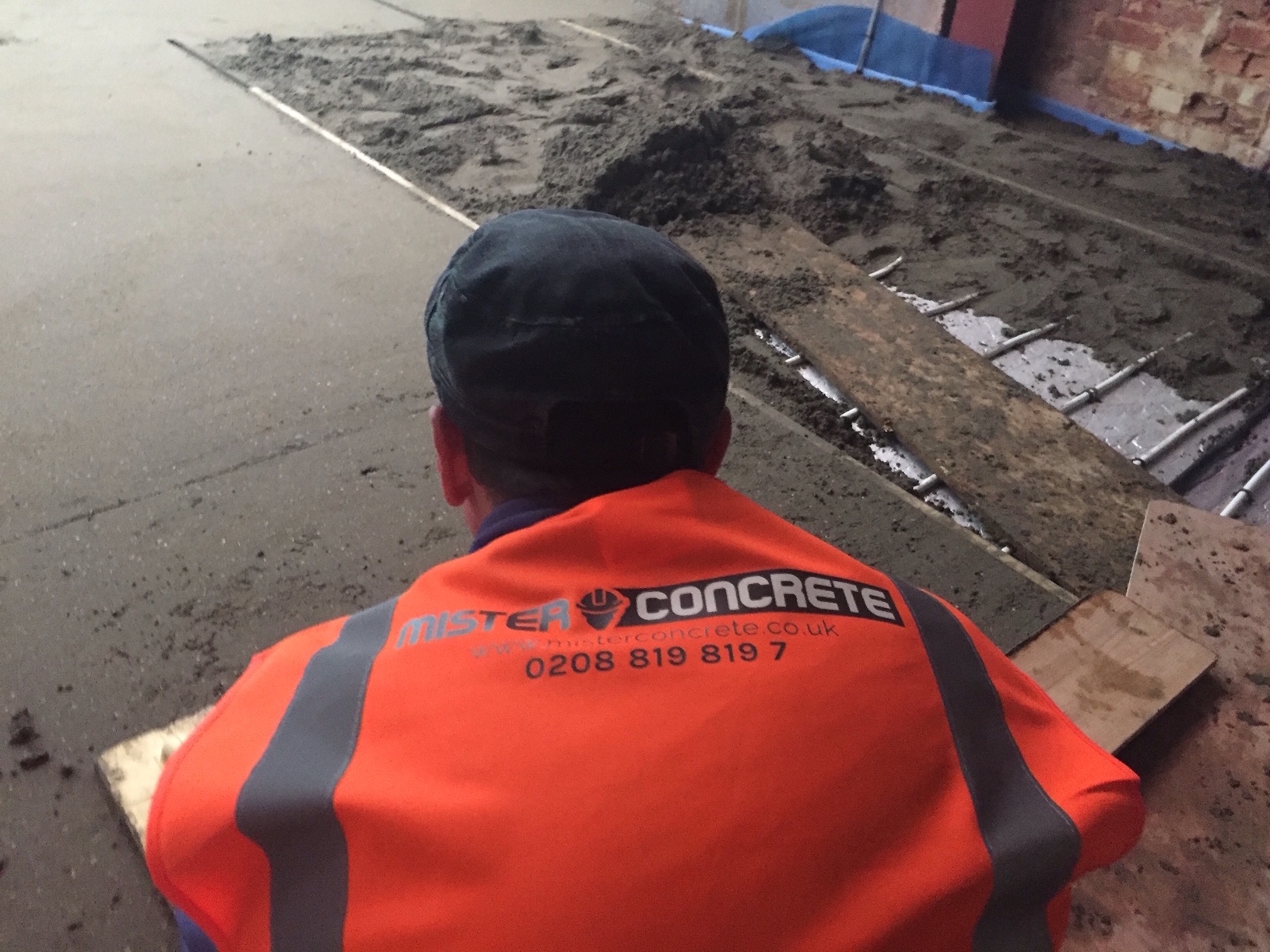 Fibre Floor Screed supply by Mister Concrete
