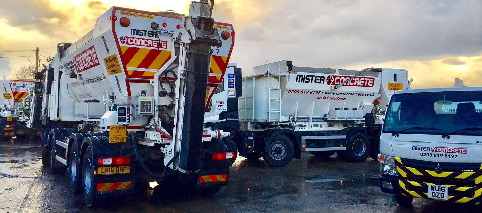 On site mixed concrete | Mister Concrete