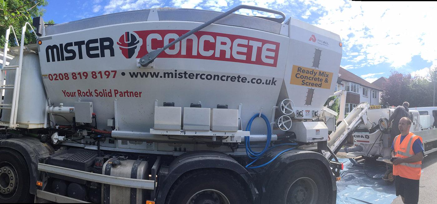 South West London concrete pumping